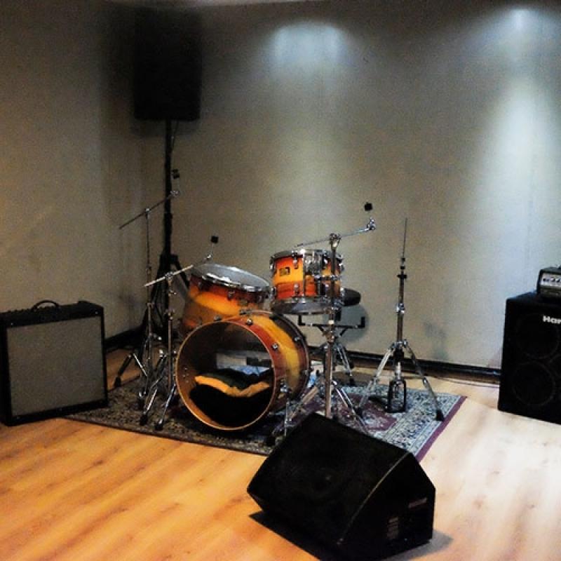 Estúdio para Ensaio de Música para Orçar Jardim Europa - Estúdio Ensaio de Bandas
