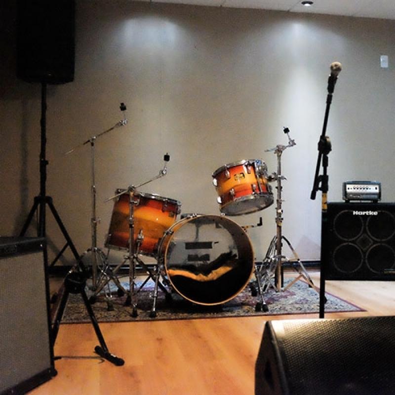Estúdio para Ensaio Musical para Orçar República - Estúdio Ensaios Gravações