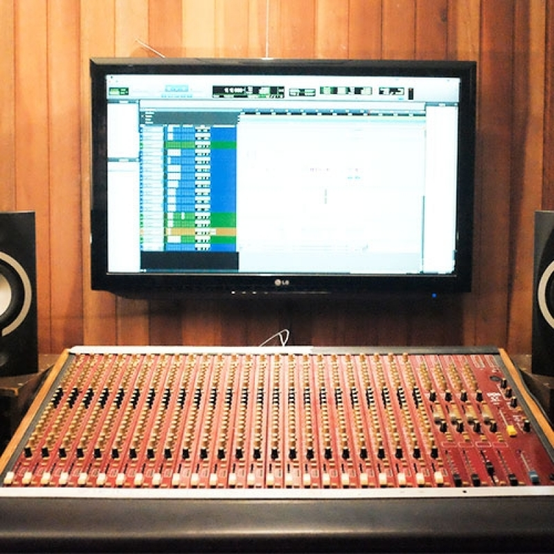 Gravação de Música em Estúdio Valores Água Funda - Estúdio para Gravação