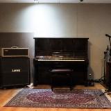 estúdio para gravação