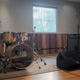 estúdio ensaio de musicas
