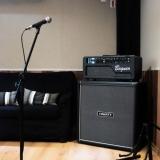estúdio para ensaio de música
